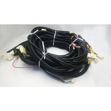 Custom Auto Wire Harness and Cable Assembly Automotive control cables