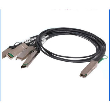 Compatible Huawei 40G QSFP+ to 4SFP+ Copper Cable Assembly DAC Cable