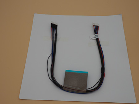 Wire harness assembly for printer and copier